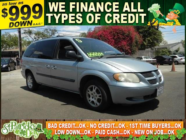 2005 DODGE GRAND CARAVAN SE 4DR EXTENDED MINI VAN blue autocheck report is available upon request