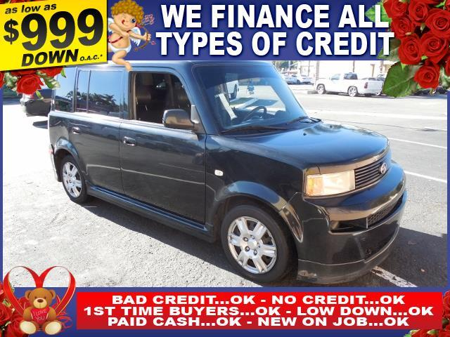 2006 SCION XB BASE 4DR WAGON WAUTOMATIC black autocheck report is available upon request severa