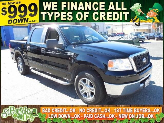 2007 FORD F-150 XLT black limited warranty included to assure your worry-free purchase autocheck