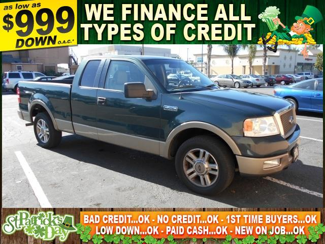 2005 FORD F-150 LARIAT green limited warranty included to assure your worry-free purchase autoch