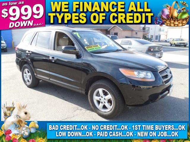 2007 HYUNDAI SANTA FE GLS black limited warranty included to assure your worry-free purchase aut