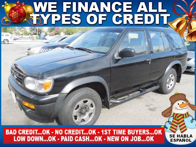 1996 NISSAN PATHFINDER XE 4DR SUV black welcome to santa ana auto center home of the best used ca