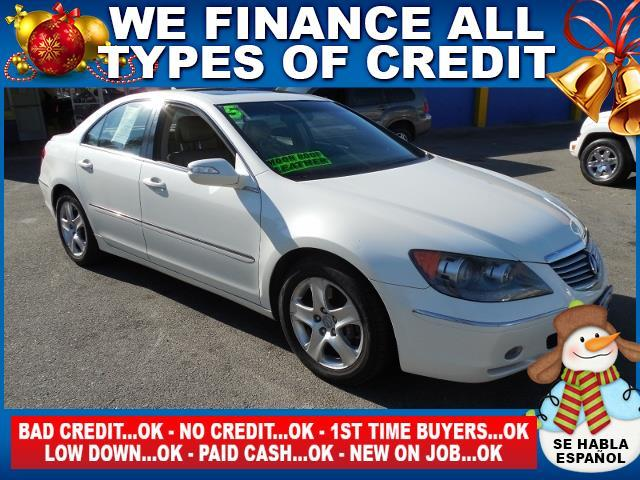2005 ACURA RL SH-AWD 4DR SEDAN white limited warranty included to assure your worry-free purchase