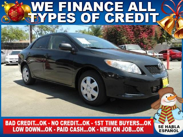 2009 TOYOTA COROLLA LE 4DR SEDAN 4A gray limited warranty included to assure your worry-free purc