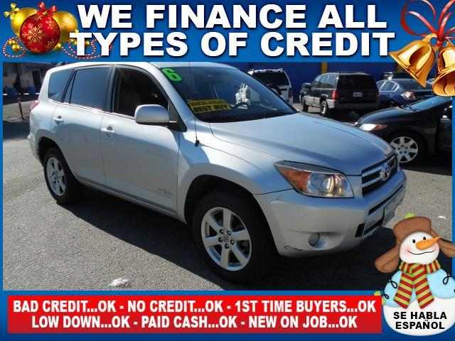 2006 TOYOTA RAV4 LIMITED 4DR SUV WV6 silver autocheck report is available upon request several