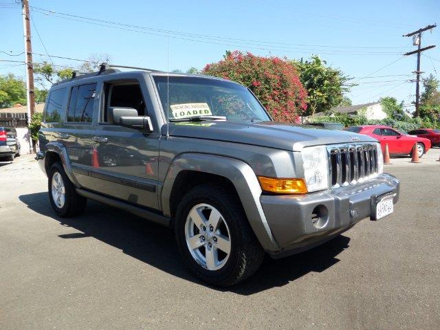 2007 JEEP COMMANDER SPORT 4DR SUV gray array array array array array array array array ar