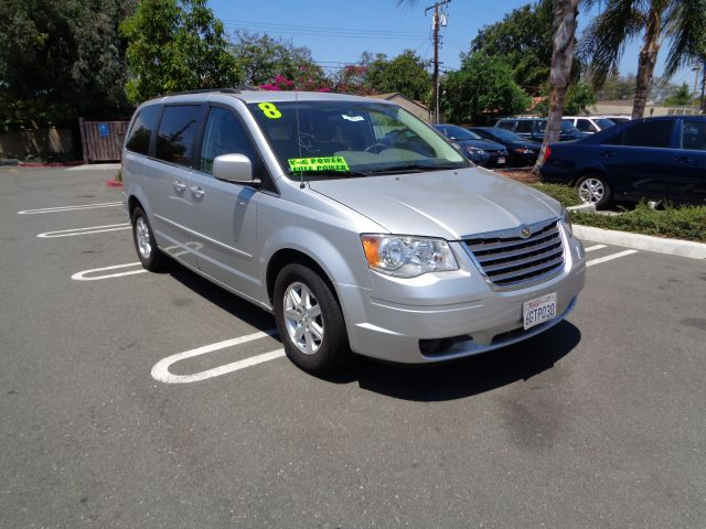 2008 CHRYSLER TOWN AND COUNTRY TOURING 4DR MINI VAN silver limited warranty included to assure you