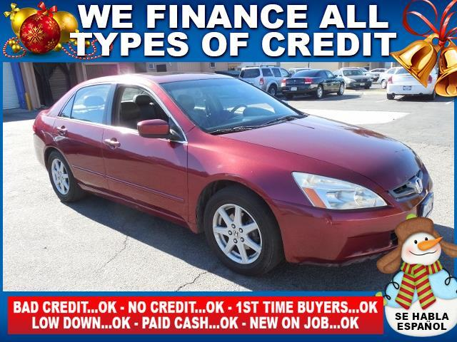 2004 HONDA ACCORD EX V-6 4DR SEDAN red limited warranty included to assure your worry-free purcha