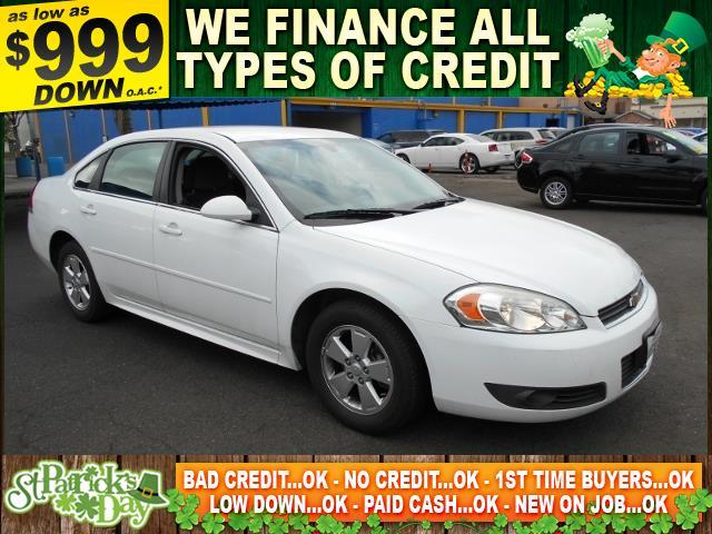 2010 CHEVROLET IMPALA LT 4DR SEDAN white limited warranty included to assure your worry-free purc