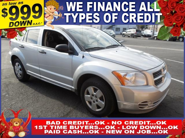 2007 DODGE CALIBER BASE 4DR WAGON silver limited warranty included to assure your worry-free purc