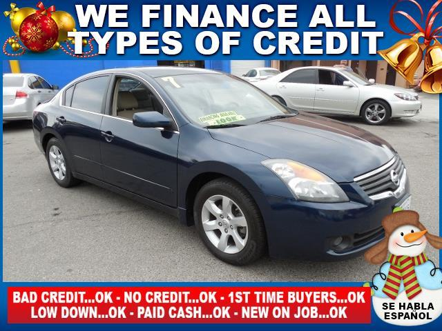 2007 NISSAN ALTIMA 25 S 4DR SEDAN 25L I4 CVT blue limited warranty included to assure your wor