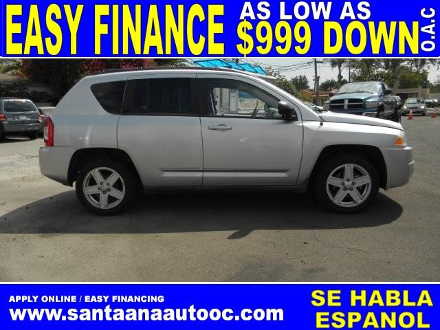 2010 JEEP COMPASS SPORT 4DR SUV silver limited warranty included to assure your worry-free purcha