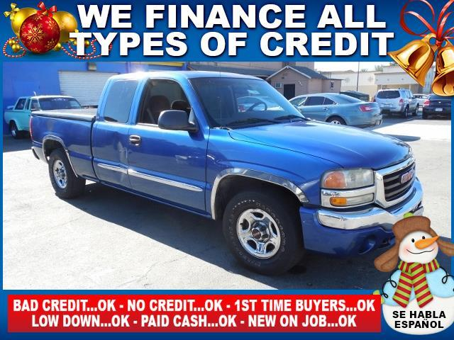 2003 GMC SIERRA 1500 BASE 4DR EXTENDED CAB 4WD SB blue limited warranty included to assure your w