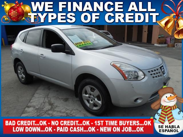 2008 NISSAN ROGUE S AWD CROSSOVER 4DR silver limited warranty included to assure your worry-free