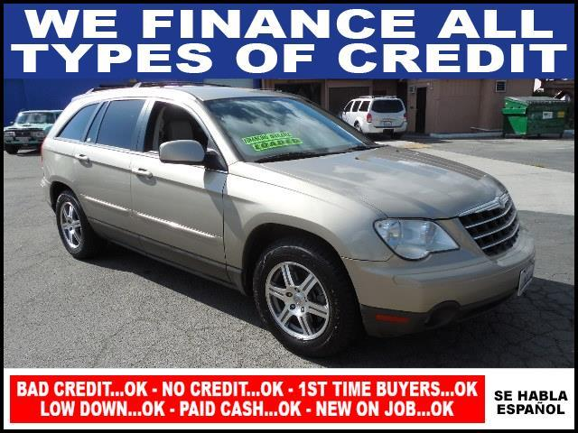 2008 CHRYSLER PACIFICA TOURING 4DR WAGON gold limited warranty included to assure your worry-free