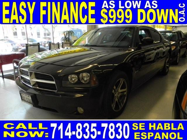 2006 DODGE CHARGER RT 4DR SEDAN black limited warranty included to assure your worry-free purchas