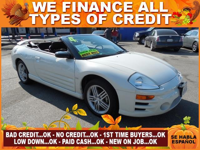 2004 MITSUBISHI ECLIPSE SPYDER GT 2DR CONVERTIBLE white limited warranty included to assure your