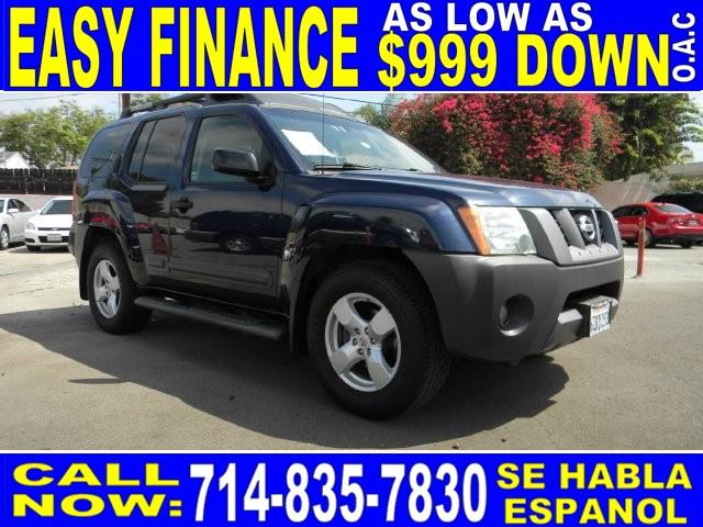 2006 NISSAN XTERRA SE 4DR SUV 4L V6 5A blue limited warranty included to assure your worry-free