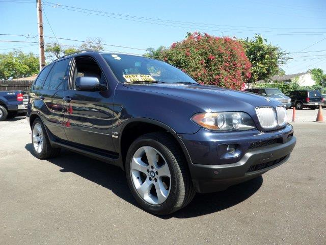 2005 BMW X5 44I AWD 4DR SUV blue pplimited warranty included to assure your worry-free purchase