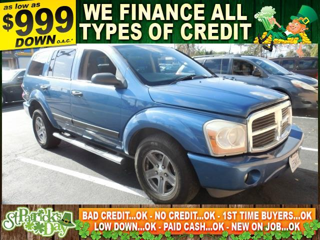 2006 DODGE DURANGO SLT 4DR SUV blue limited warranty included to assure your worry-free purchase