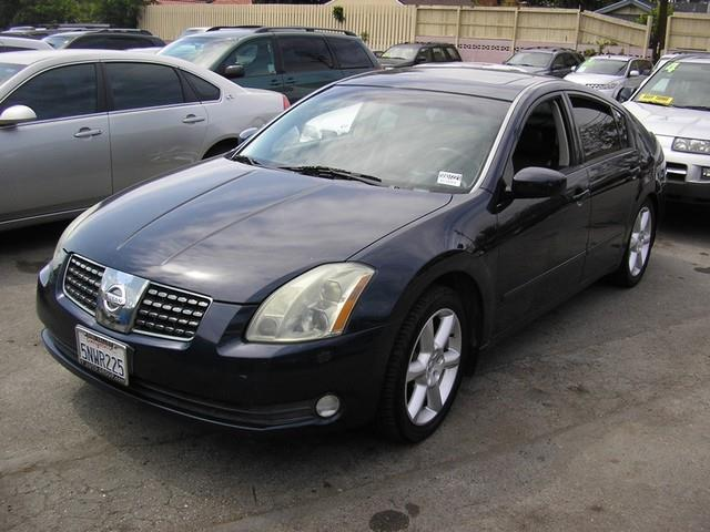 2005 NISSAN MAXIMA 35 SE 4DR SEDAN blue limited warranty included to assure your worry-free purc