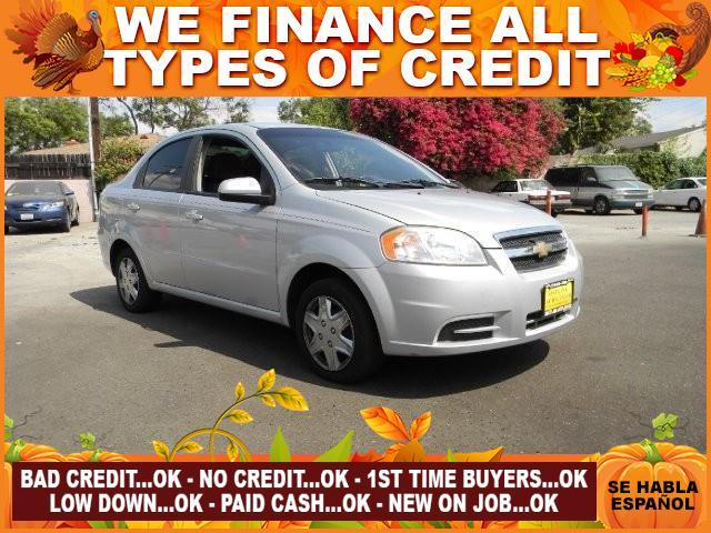 2010 CHEVROLET AVEO LT 4DR SEDAN W1LT silver limited warranty included to assure your worry-free