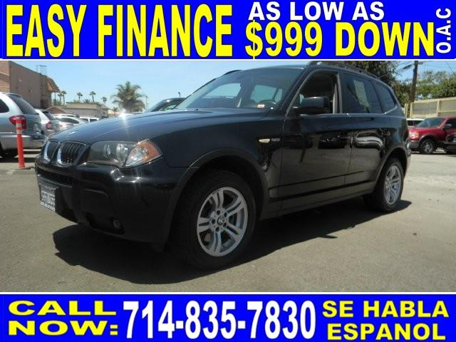 2006 BMW X3 30I AWD 4DR SUV black limited warranty included to assure your worry-free purchase