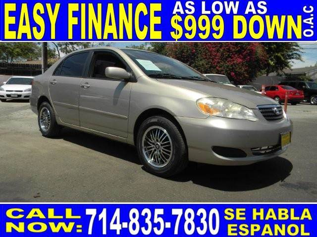 2006 TOYOTA COROLLA CE 4DR SEDAN 18L I4 4A gold limited warranty included to assure your worry