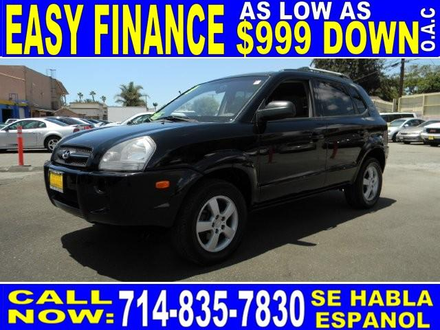 2008 HYUNDAI TUCSON GLS black limited warranty included to assure your worry-free purchase autoc