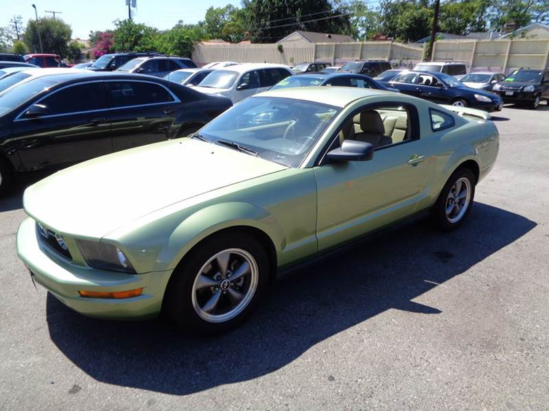 2006 FORD MUSTANG V6 PREMIUM 2DR COUPE green limited warranty included to assure your worry-free