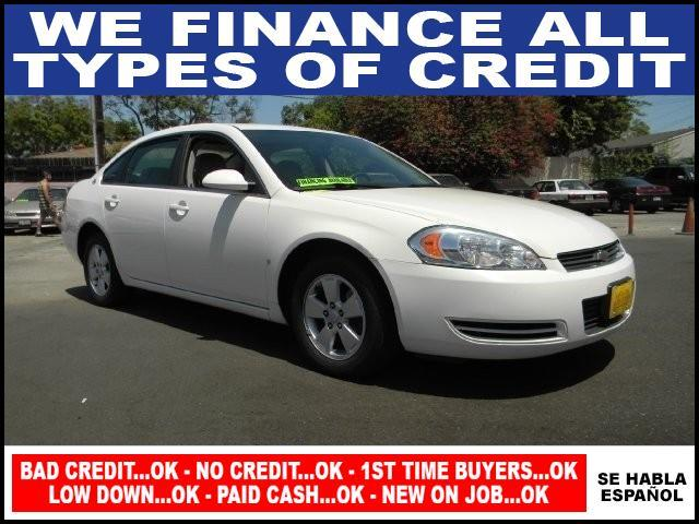2008 CHEVROLET IMPALA LT 4DR SEDAN white limited warranty included to assure your worry-free purc