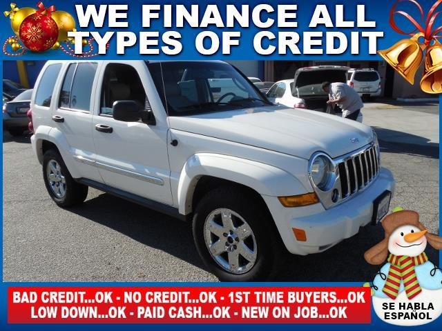 2005 JEEP LIBERTY LIMITED 4WD 4DR SUV white limited warranty included to assure your worry-free p