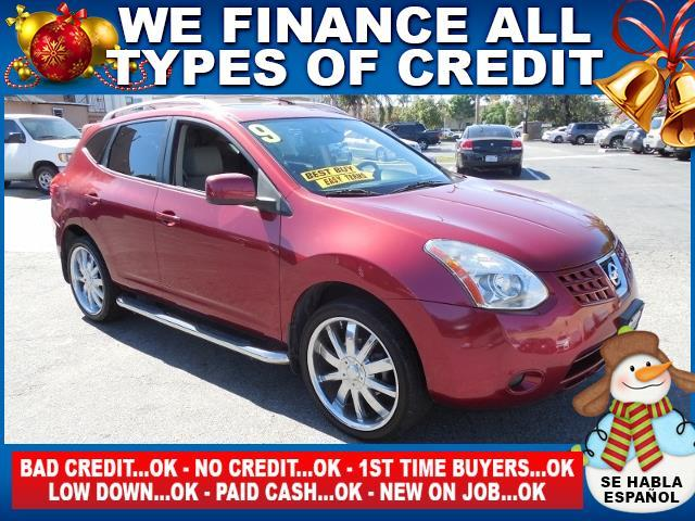 2009 NISSAN ROGUE S CROSSOVER 4DR burgandy limited warranty included to assure your worry-free pu