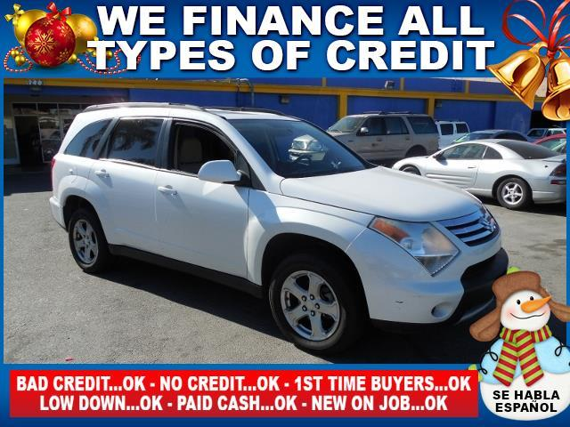 2008 SUZUKI XL7 LUXURY 4DR SUV 7 PASSENGER white limited warranty included to assure your worry-f