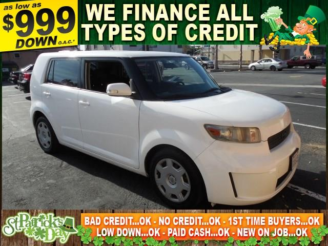 2008 SCION XB BASE 4DR WAGON 4A white limited warranty included to assure your worry-free purchas