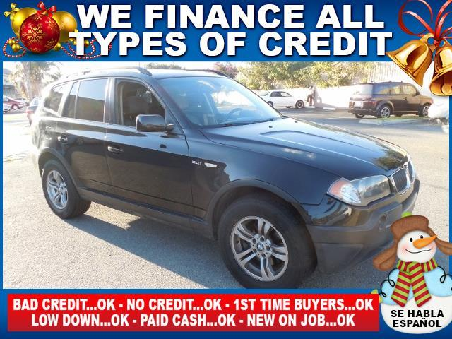 2005 BMW X3 30I AWD 4DR SUV black limited warranty included to assure your worry-free purchase