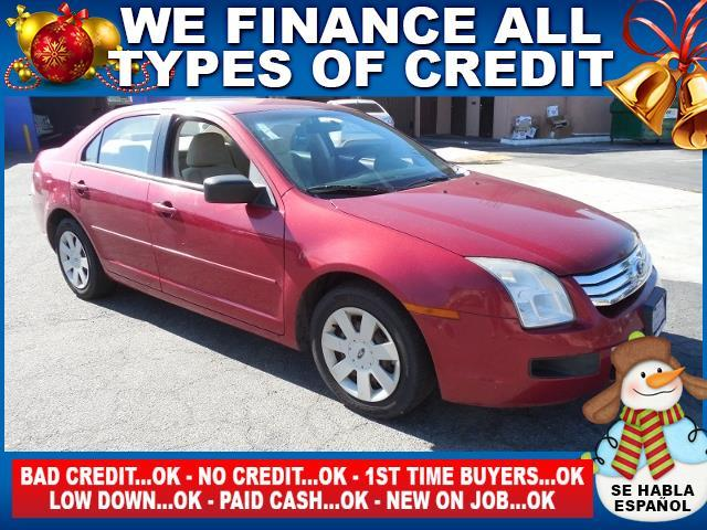 2009 FORD FUSION S 4DR SEDAN red limited warranty included to assure your worry-free purchase au