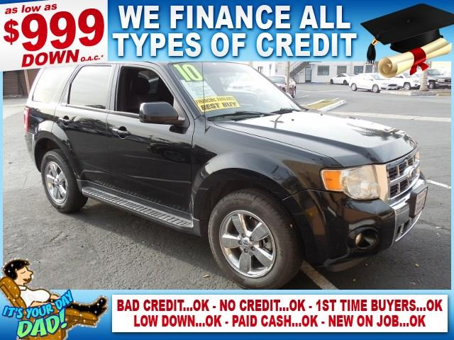 2010 FORD ESCAPE LIMITED AWD 4DR SUV gray limited warranty included to assure your worry-free pur