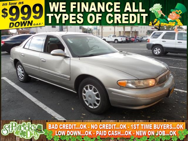 2002 BUICK CENTURY CUSTOM 4DR SEDAN gold autocheck report is available upon request several thou