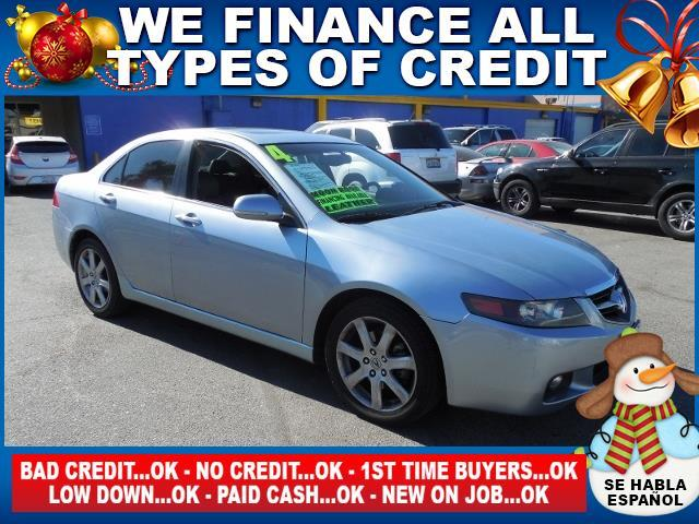 2004 ACURA TSX BASE 4DR SEDAN silver limited warranty included to assure your worry-free purchase