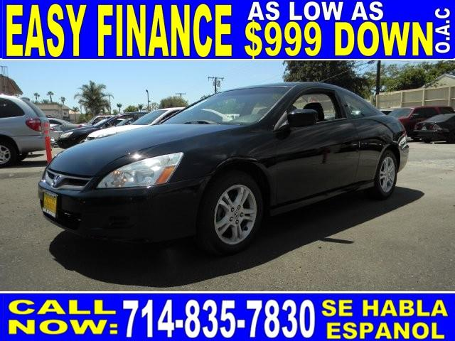 2007 HONDA ACCORD EX-L 2DR COUPE black 2-stage unlocking - remote abs - 4-wheel air filtration