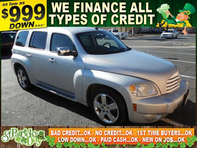 2009 CHEVROLET HHR LT 4DR WAGON W2LT silver limited warranty included to assure your worry-free
