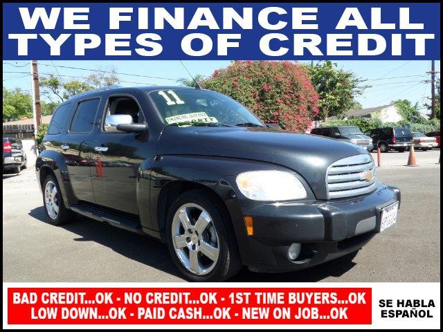 2011 CHEVROLET HHR LT 4DR WAGON W2LT black plimited warranty included to assure your worry-free