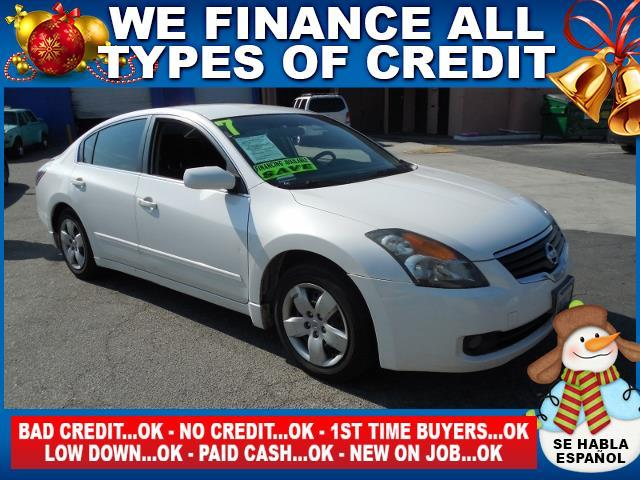 2007 NISSAN ALTIMA 25 S 4DR SEDAN 25L I4 CVT white limited warranty included to assure your w