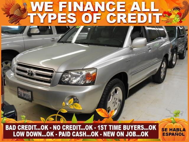 2006 TOYOTA HIGHLANDER BASE 4DR SUV WV6 silver limited warranty included to assure your worry-fr