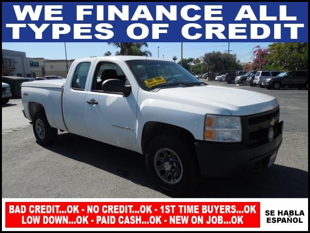 2008 CHEVROLET SILVERADO 1500 K1500 white limited warranty included to assure your worry-free purc