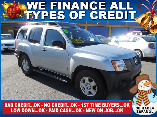 2008 NISSAN XTERRA 40 silver limited warranty included to assure your worry-free purchase autoc