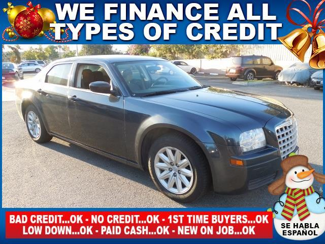 2008 CHRYSLER 300 LX 4DR SEDAN gray limited warranty included to assure your worry-free purchase
