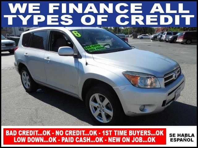 2006 TOYOTA RAV4 LIMITED 4DR SUV WV6 silver limited warranty included to assure your worry-free