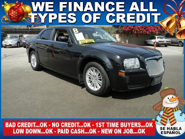 2008 CHRYSLER 300 LX 4DR SEDAN black limited warranty included to assure your worry-free purchase